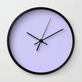 Lilac Blue Wall Clock