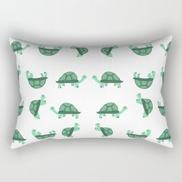Turtles Pattern Rectangular Pillow