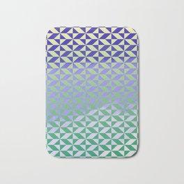 Magic Vibrations (Green) Bath Mat
