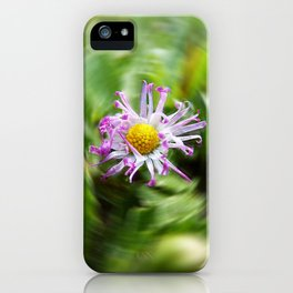 Curly Daisy iPhone Case
