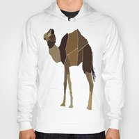 camel Hoodies featuring Camel by ANIMALS + BLACK
