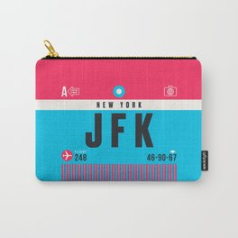 Luggage Tag A - JFK New York USA Carry-All Pouch