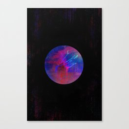 Orb Portrait Canvas Print