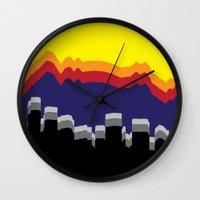 colorado Wall Clocks featuring ColoRADo by Sierra LaFrance