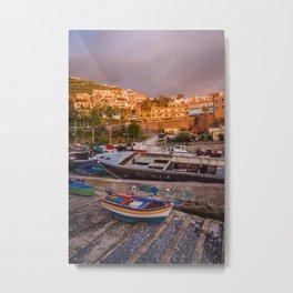 Madeira sunset Metal Print