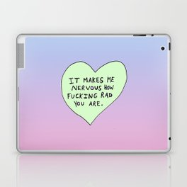 Bastard Heart (#2) Laptop & iPad Skin