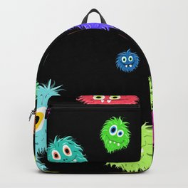 All My Monster Friends Pattern Backpack