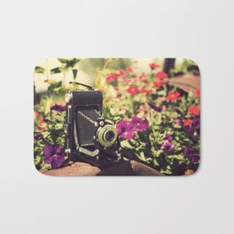 When I'm with  my camera , I know no fear.  Bath Mat