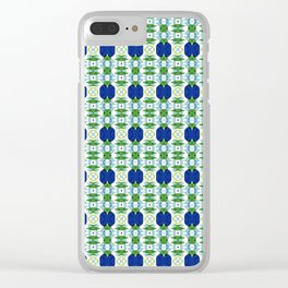 Blue Sapphires - this design goes well with Blue and Green Calm Clear iPhone Case