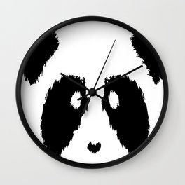 Panda Boobs Wall Clock