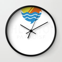 Fhloston Paradise v3 Wall Clock