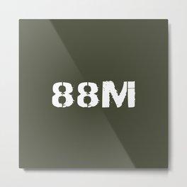 88M Motor Transport Operator Metal Print