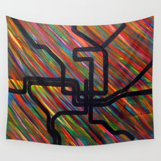 DC Metro Wall Tapestry