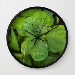 Magical Clover - Lucky Irish Clover Wall Clock