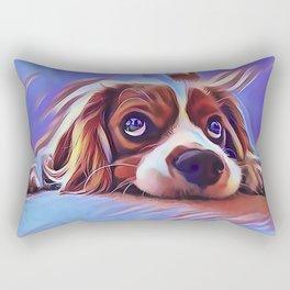 Cavalier King Charles Spaniel Rectangular Pillow