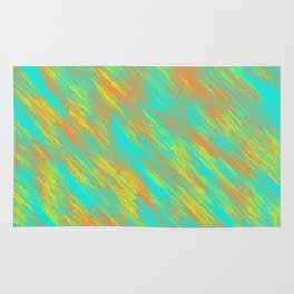 green blue orange and yellow painting texture abstract background Rug
