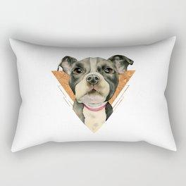 Puppy Eyes 5 Rectangular Pillow