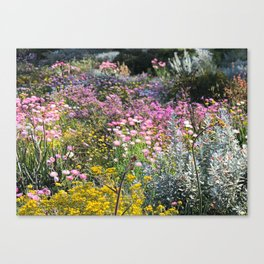 Wildflowers by Day Canvas Print
