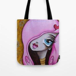 Raunchy Raspberry Tote Bag