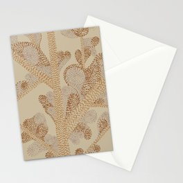 earthy swirls Stationery Cards