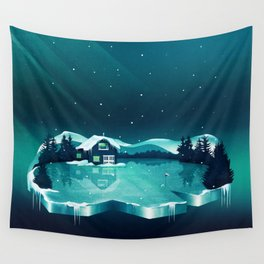 Frozen Magic Wall Tapestry