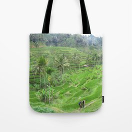 Terraced Fields Tote Bag