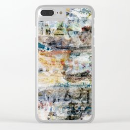 Torn Posters 2 Clear iPhone Case