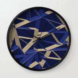 3D Futuristic GEO IX Wall Clock