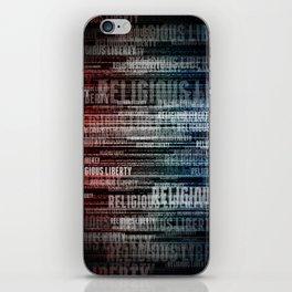 Religious Liberty iPhone Skin