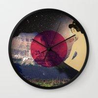 japan Wall Clocks featuring Japan by Blaz Rojs