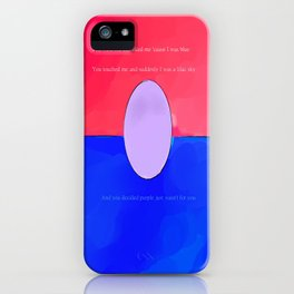 There goes our happy ending iPhone Case
