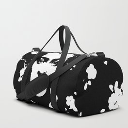 Black 'n white Frida Duffle Bag