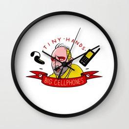 Sphealin' It Wall Clock