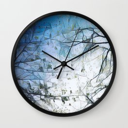 The Winds of Change Wall Clock