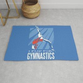 Flip For Gymnastics Rug