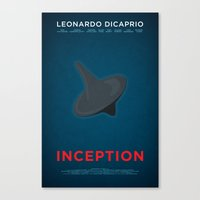 inception Canvas Prints featuring Inception by Martin Lucas