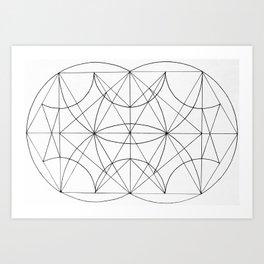 Paralized Art Print