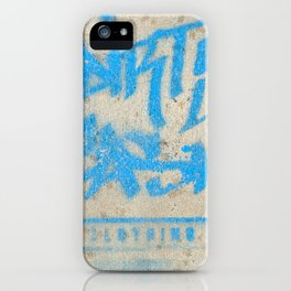 DIRTY CASH - TAGGING STREETART MIAMI by Jay Hops iPhone Case