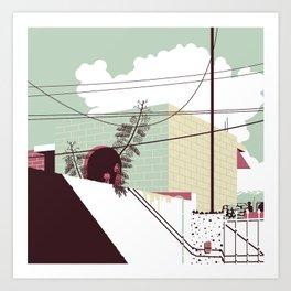 Paranoia 6 Art Print