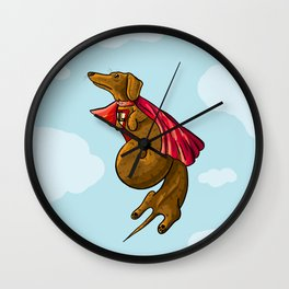 SuperDach Wall Clock