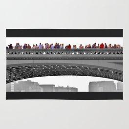 Southwalk Bridge, London. Rug