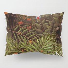 """Henri Rousseau """"Exotic landscape"""", 1908 Pillow Sham"""
