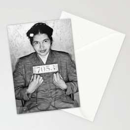 Rosa Parks Mugshot Stationery Cards