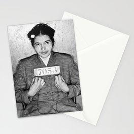 Rosa Parks Mugshot Stationery Cards