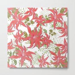 Coral flowers 70 Metal Print