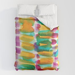 3   | 191128 | Abstract Watercolor Pattern Painting Comforters