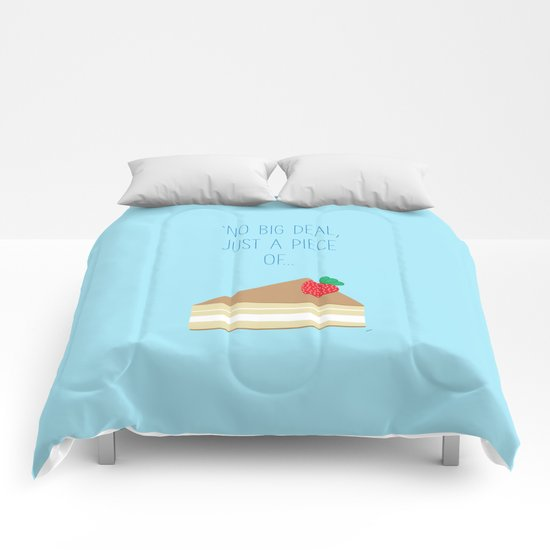 'Just piece of cake!' Comforters
