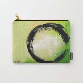 Enso Abstraction No. mm13 by Kathy Morton Stanion Carry-All Pouch