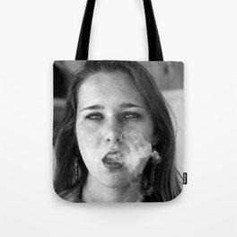 smoker and the thief  Tote Bag