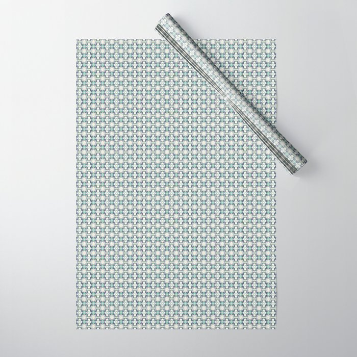 basket weave bg Wrapping Paper